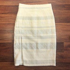 NWT Rebecca Minkoff James Boucle Pencil Skirt Sz 0